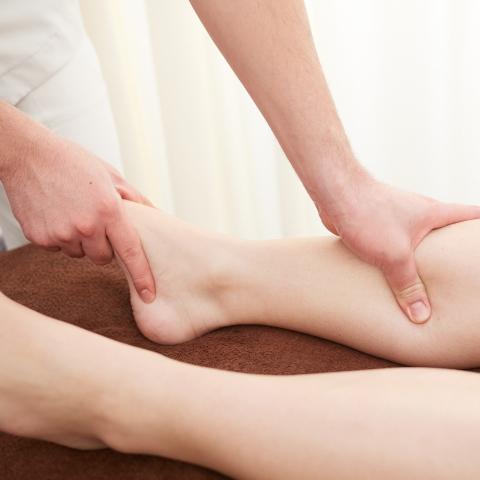 足腰のマッサージ